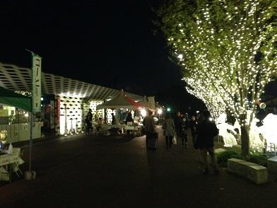 テント夜12