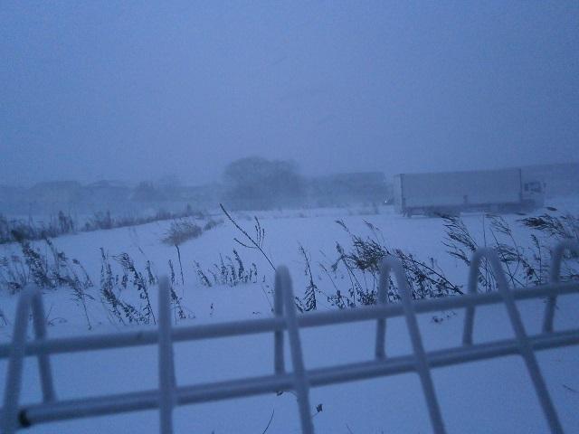 吹雪の模様2