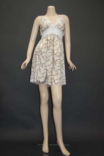 チェーン☆スカーフ柄 ショートドレス