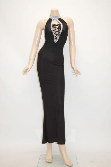 メタル&スピンドル ロングドレス