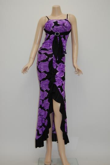 レッドショートドレス