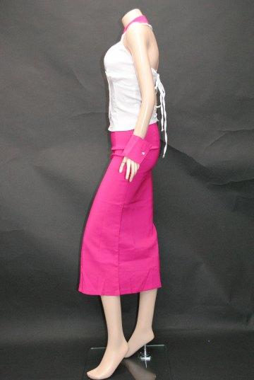 カフス付きバックスピンドル2P ロングドレス