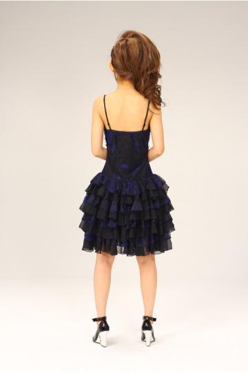ふりふりティアード ショートドレス