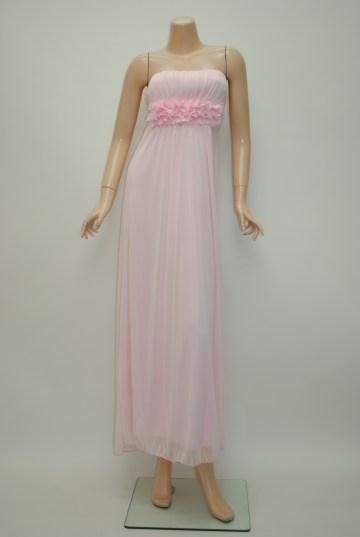 ピンクロングドレス
