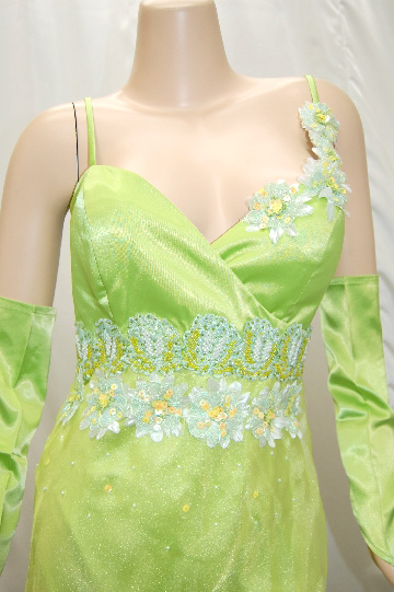 上品花畑 ロングドレス
