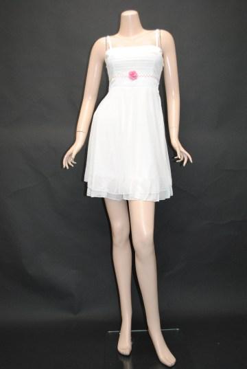 glossオリジナル ピンクお花付きシフォン