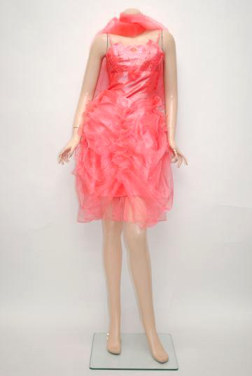 シャンタン フェミニンプリンセス ショートドレス