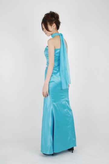ワンショルダー★ ロングドレス