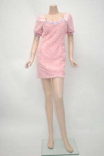 小悪魔ageha掲載ドレス ローズブルーム エレガント ショートドレス