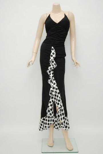 ブラック ロングドレス