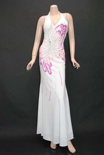 キラキラバタフライ嬢王 ロングドレス