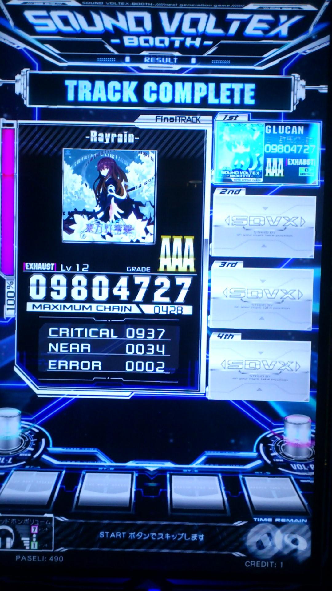Rayrain AAA
