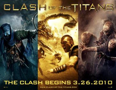 Clash of the Titans poster 2