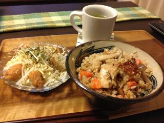 Mar16_鶏の炊き込みご飯