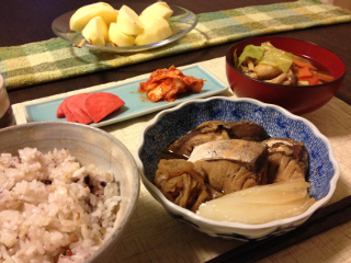 Mar21_ぶり煮
