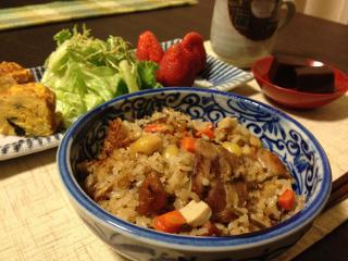Apr02_鶏の炊き込みご飯