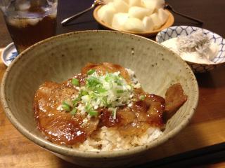 Aug30_豚丼