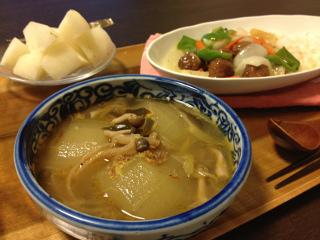 Sep12_冬瓜のスープ
