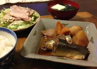 Oct17_サンマと野菜の煮物