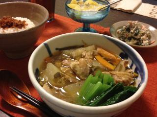 Oct19_鶏と冬瓜のスープ