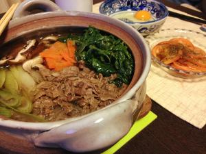 Jan30_すき焼き風鍋