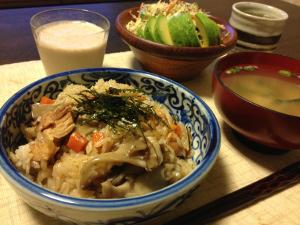 Feb06_鶏の炊き込みご飯