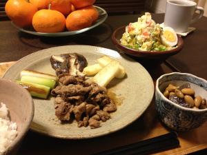 Mar04_豚の生姜焼き