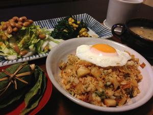 Mar05_キムチ炒飯