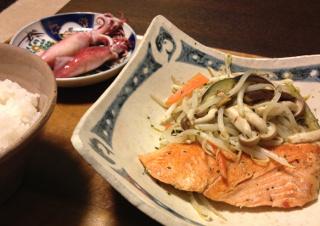 Apr22_鮭と野菜の蒸し焼き