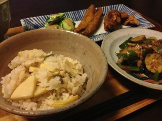 Apr23_筍の炊込みご飯