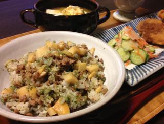 Apr24_筍の炒飯