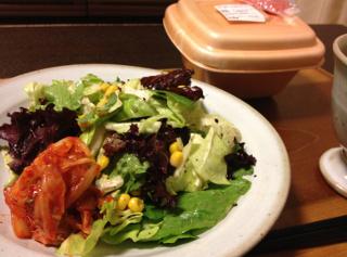 May14_キムチのせサラダ
