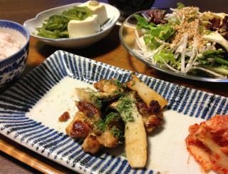 May22_鶏のカリカリ焼き