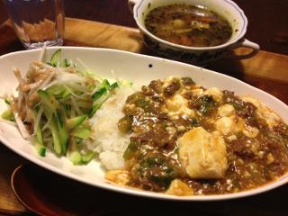 Jun12_麻婆豆腐丼