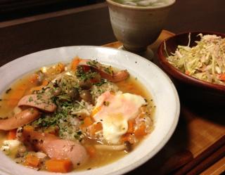Jun24_焦がし玉葱の玄米リゾッ