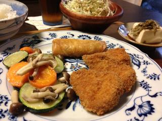Jly08_お肉屋さんのお惣菜