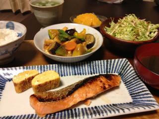 Jly17_鮭の粕漬け焼き