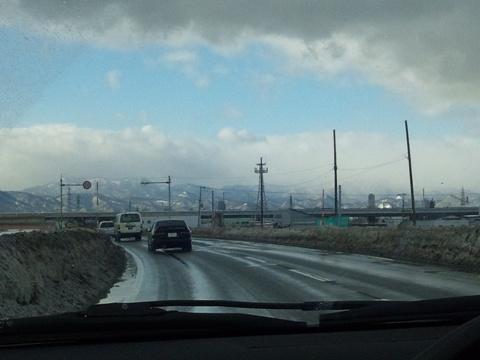 今日の道路(2013.02.02)