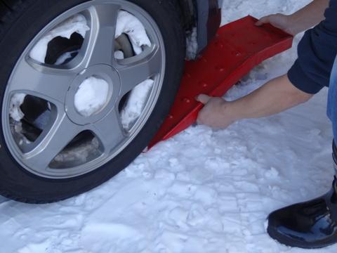 雪道の必需品02(2013.02.23)