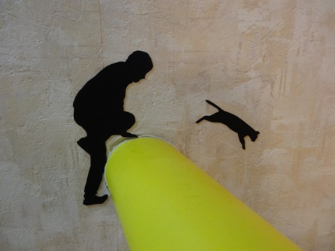 猫逃亡01(2013.06.02)
