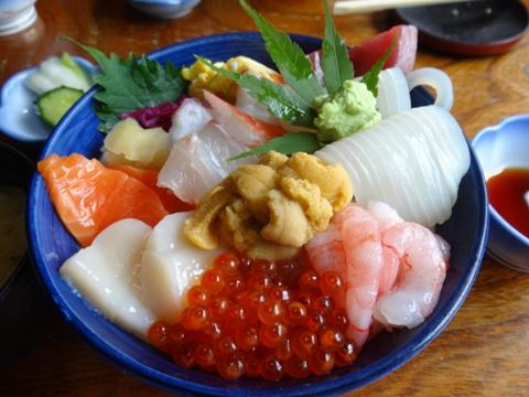 海鮮丼(2013.07.15)