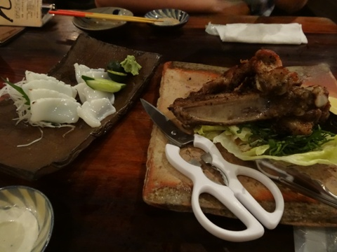 島豚ソーキの塩焼き(2013.08.08)