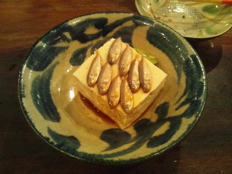 スクガラス豆腐(2013.08.08)