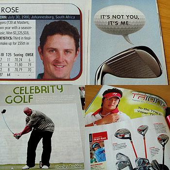 アメリカのゴルフ雑誌
