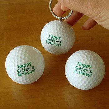 ゴルファーのお誕生日に!