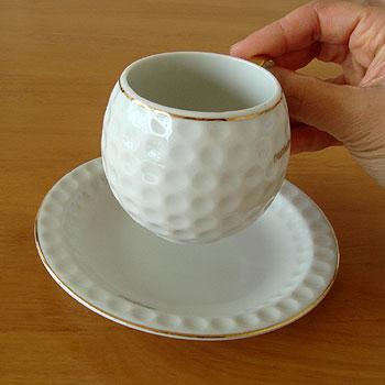 ゴルフボール型 コーヒーカップ