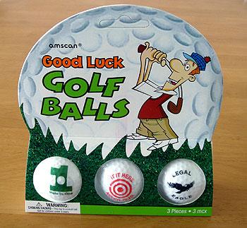 グッドラック ゴルフボール