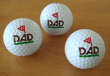 父の日用 ゴルフボール