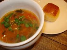 ミルクパンとスープ