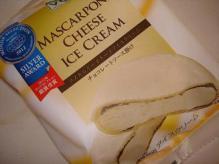 マスカルポーネチーズアイス